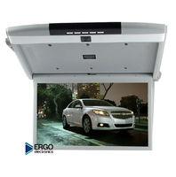 """Автомобильный потолочный монитор 17.3"""" со встроенным медиаплеером ERGO ER17S (FullHD 1920x1080)"""