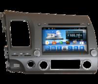 Головное устройство HONDA Civic 4D НА ANDROID 4.4 CARMEDIA KR-8046