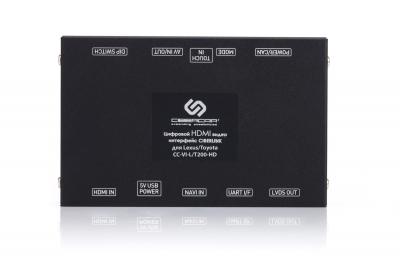Видеоинтерфейс для Lexus и Toyota LC200 с цифровыми входами HDMI