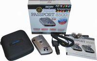 Escort 8500 X50, INTL + SC55 Detector kit,  red