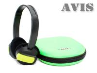 Детские беспроводные автомобильные ИК стерео наушники (двухканальные) AVIS AVS002KIDS