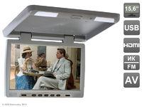 """Потолочный автомобильный монитор 15,6"""" со встроенным медиаплеером AVIS Electronics AVS115 (серый)"""