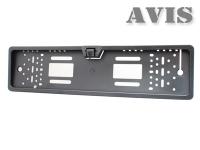 AVS308CPR Камера заднего вида в рамке номерного знака AVIS