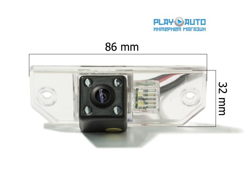 штатная камера заднего вида skoda octavia ii