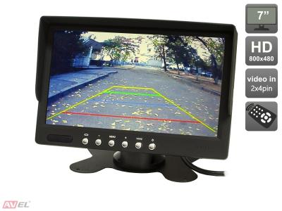 """Парковочный монитор 7"""" для грузовиков и автобусов AVIS AVS4701BM"""