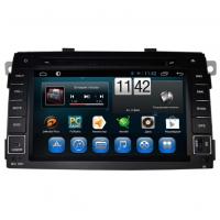 Штатное головное устройство Kia Sorento 2009-2012 на Android 4.4 Carmedia QR-7032