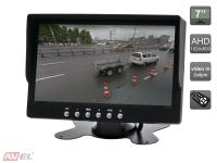 """Парковочный монитор 7"""" для грузовиков и автобусов AVS4747TM (AHD)"""