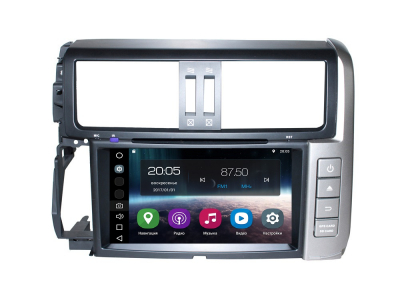 Штатная магнитола FarCar s200 для Toyota Land Cruiser Prado 150 на Android (V065)