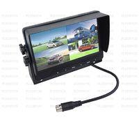 Pleervox LCD Truck 4 input монитор с квадратером для подключения 4 камер