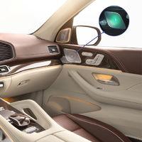 Подсветка Ambient Light для штатных динамиков Burmester Mercedes-Benz GLE V167, GLS X167 от 2019 г.в.