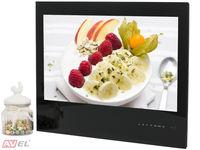 Встраиваемый Smart телевизор для кухни AVS240KS (черная рамка)