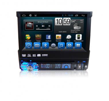 Универсальное головное устройство 1 DIN на Android 9.0 Carmedia KR-7123-T8