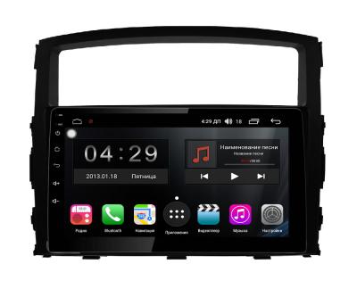 Штатная магнитола FarCar s300-SIM 4G для Mitsubishi Pajero 4 на Android (RG1009R)