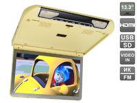 """Автомобильный потолочный монитор 13,3"""" со встроенным FULL HD медиаплеером AVIS AVS440MPP (бежевый)"""