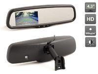 """Зеркало заднего вида со встроенным монитором 4.3"""" AVIS AVS0410BM"""