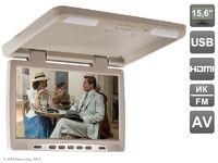 """Потолочный автомобильный монитор 15,6"""" со встроенным медиаплеером AVIS Electronics AVS115 (бежевый)"""