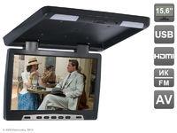 """Потолочный автомобильный монитор 15,6"""" со встроенным медиаплеером AVIS Electronics AVS115 (черный)"""