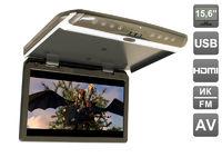 """Автомобильный потолочный монитор 15,6"""" со встроенным FULL HD медиаплеером AVIS Electronics AVS1550MPP (тёмно-серый)"""