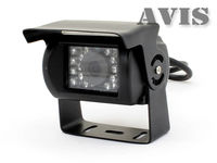 Видеокамера CCD с автоматической ИК-подсветкой и встроенным микрофоном AVIS AVS401CPR