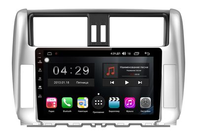 Штатная магнитола FarCar s300-SIM 4G для Land Cruiser Prado 150 на Android (RG065R)