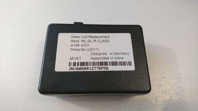 Адаптер запуска штатного усилителя (активатор, включалка) для Mecerdes Benz ML, GL, R (2005- 2011) E, CLS, SLK (2009- 2012), Porsche Cayenne (2004- 2011), Cayman (2004- 2012), 911 Boxster (2005- 2012) MOST2 v2.6