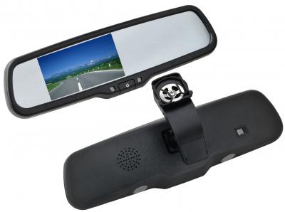 Зеркало заднего вида с монитором SWAT VDR-HY-08
