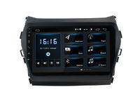 Штатная магнитола Incar XTA-2409 для Hyundai Santa Fe 2012+ на Android 8.1