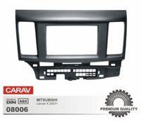 CARAV 08-006 Переходная рамка для автомобиля Mitsubishi Lancer Х (2007+) 2 DIN