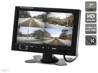 """Автомобильный монитор 7"""" со встроенным квадратором для установки на приборную панель AVIS AVS4715BM"""