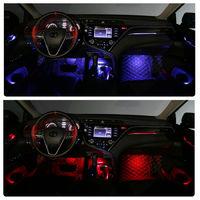 Подсветка салона для Toyota Camry XV70 RGB 64 цвета INVENTCAR Ambient Light CP-AML-XV70 (комплект)