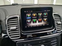 Android монитор в штатное место Carmedia XN-M8002 для Mercedes X166 GLE / GLS 2016- 2018 NTG 5.0/ 5.1